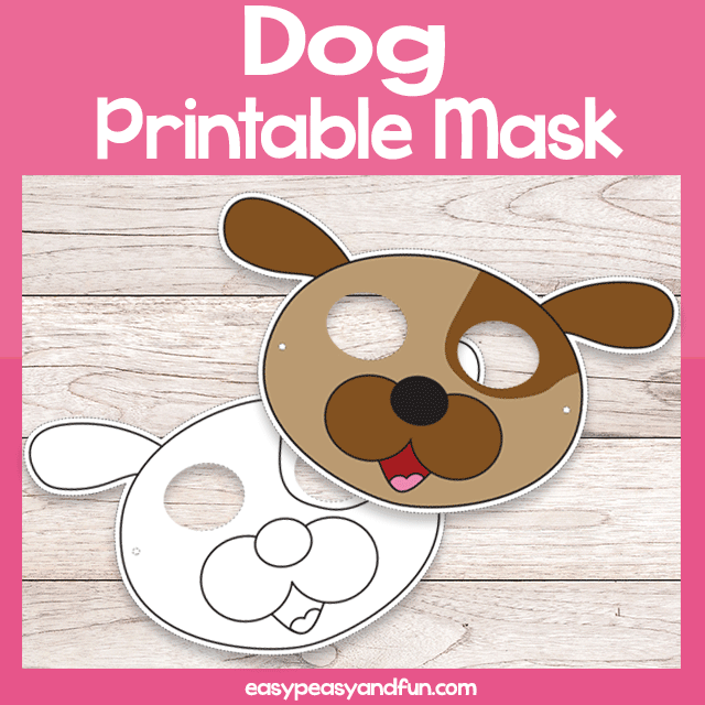 photo regarding Dog Mask Printable called Printable Pet dog Mask Template Very simple Peasy and Entertaining Subscription