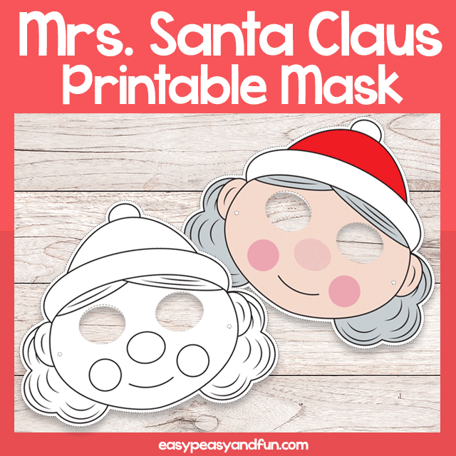 Mrs Santa Claus Mask