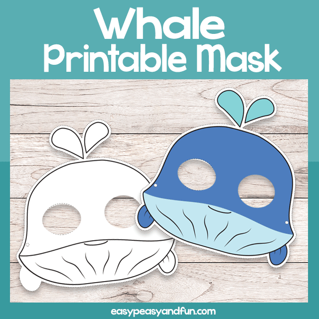 graphic regarding Whale Template Printable identify Printable Whale Mask Template Simple Peasy and Enjoyment Subscription