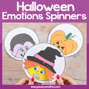 Halloween Emotions Spinners