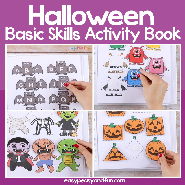 Halloween Quiet Book