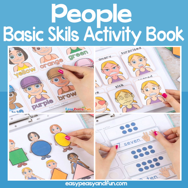 People Basic Skills Activity Book