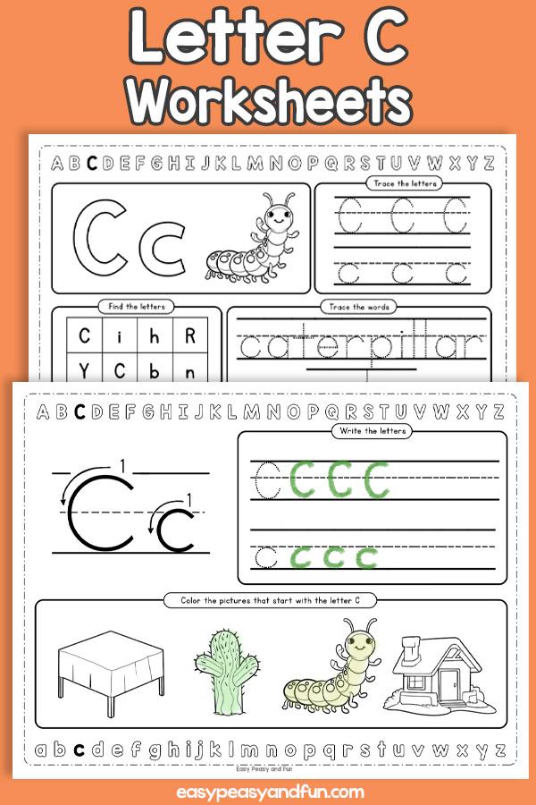 Letter C Worksheets - Alphabet Worksheets
