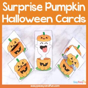 Surprise Pumpkin Halloween Card