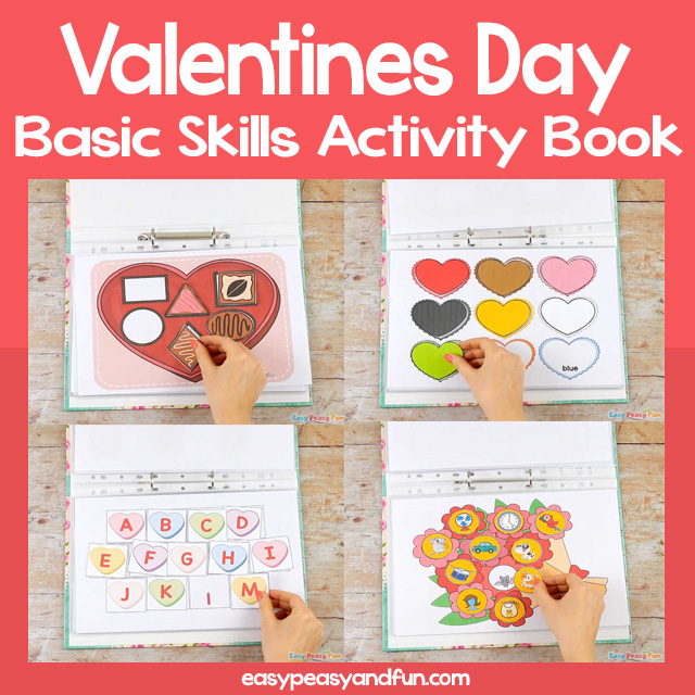 Valentines Day Quiet Book
