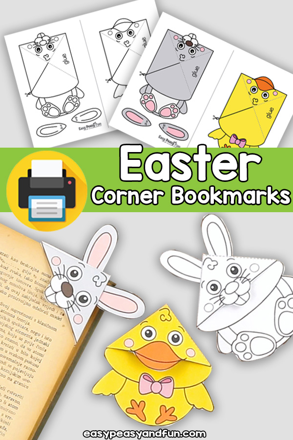 Easter Corner Bookmarks