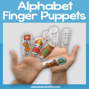ABC Finger Puppets