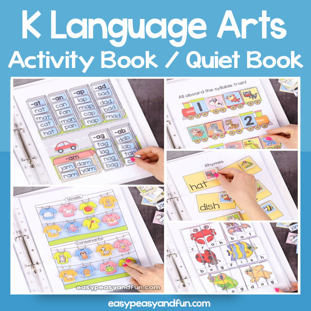 Language Arts Busy Book