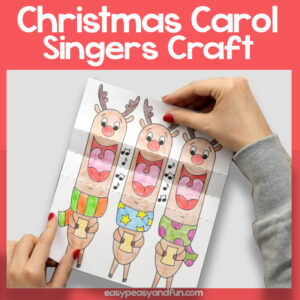 Carol Singers Christmas Craft