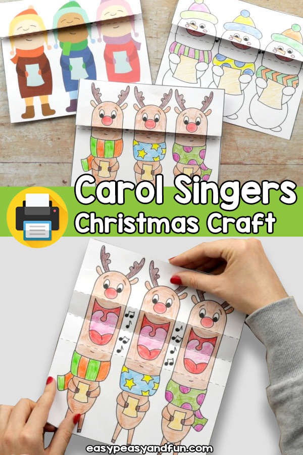 Christmas Carol Singers Craft