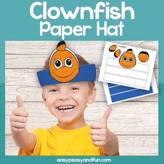 Clownfish Paper Crown