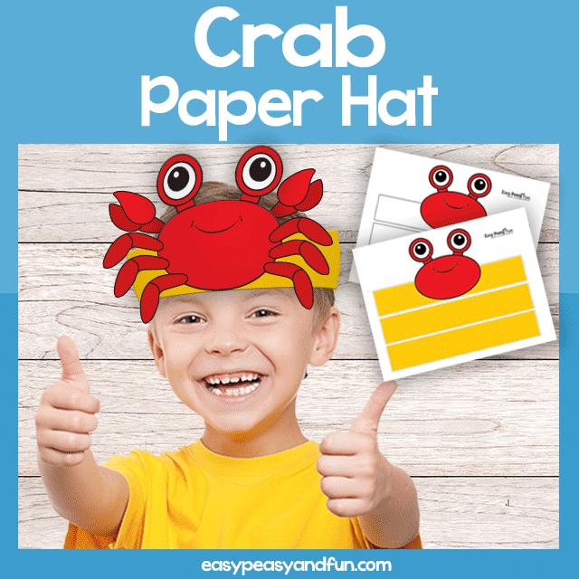 Crab Paper Crown