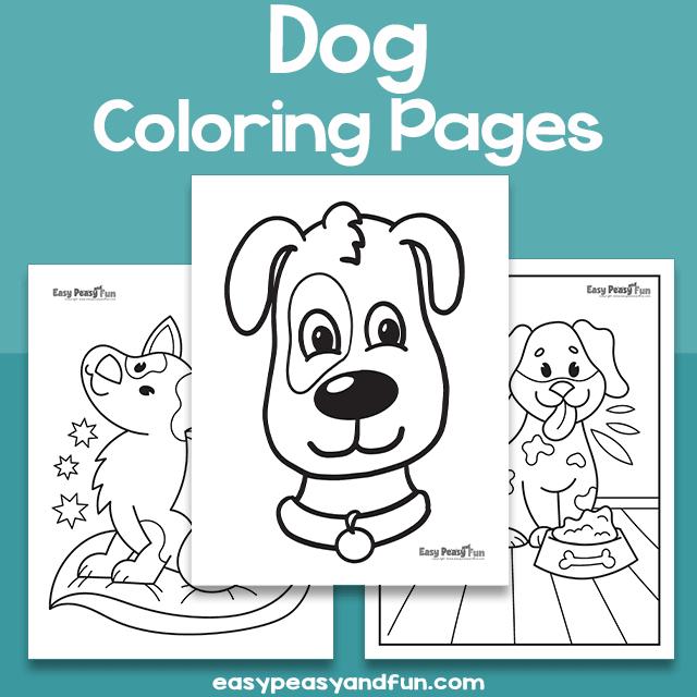 Dog Coloring Sheets