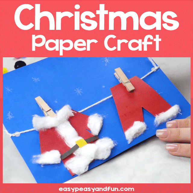 Easy Christmas Paper Craft