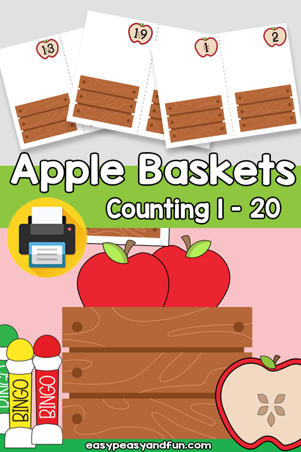 Apple Baskets Counting 1-20