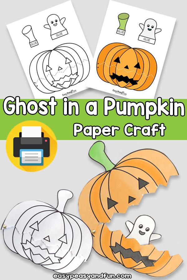Halloween Pumpkin Craft Template